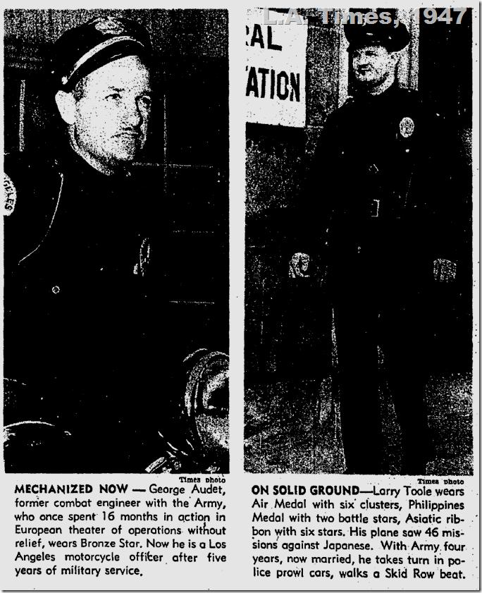 Sept. 1, 1947, L.A. Times, LAPD