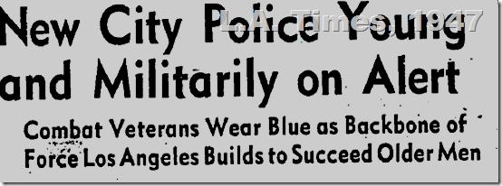 L.A. Times, Sept. 1, 1947, LAPD