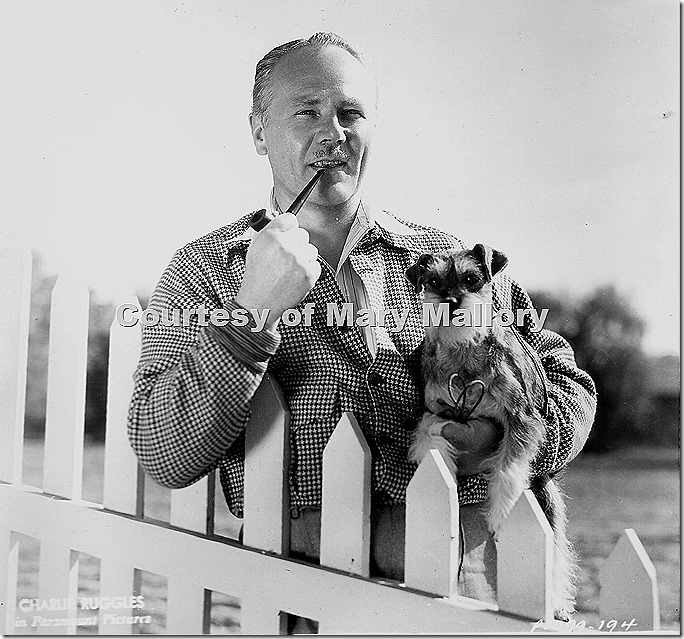 Charlie Ruggles and Dog 2