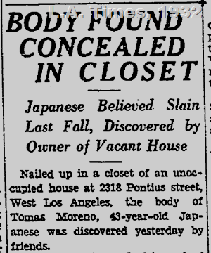 Los Angeles Times, 1932