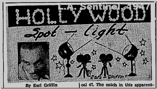 Sept. 4, 1947, Hollywood Spotlight, L.A. Sentinel