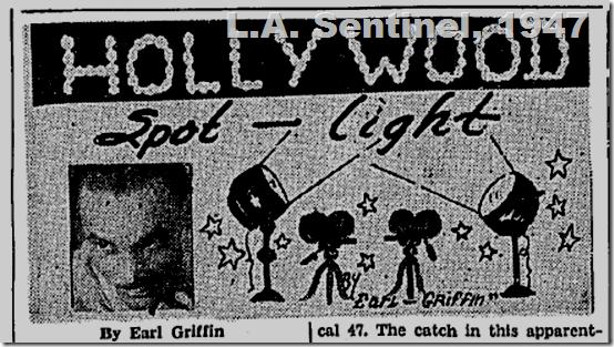 Sept. 4, 1947, Hollywood Spotlight, L.A. Sentinel