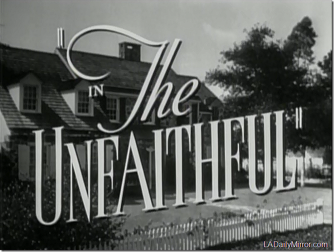 Sept. 8, 2018, The Unfaithful