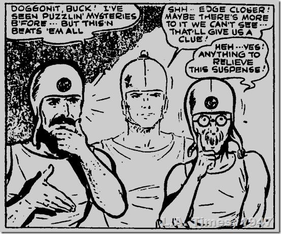 L.A. Times, 1947, comics