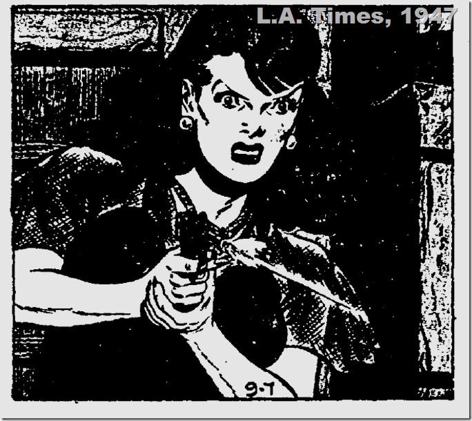 Comics, L.A. Times, 1947