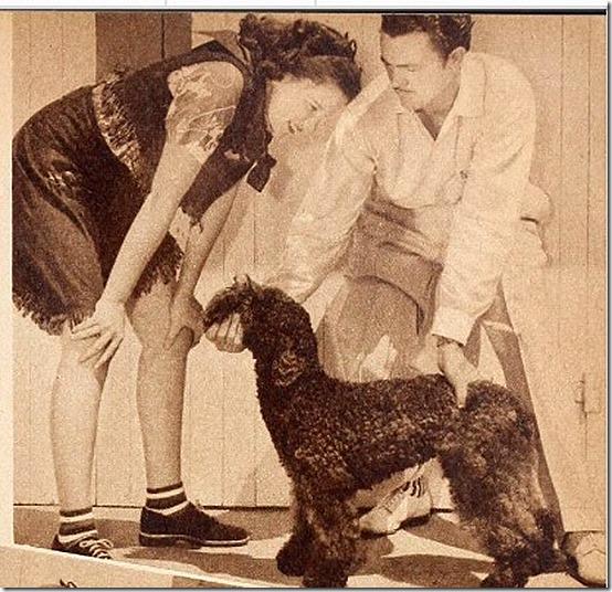 Judy Garland Max Weatherwax Hollywood 11-1938