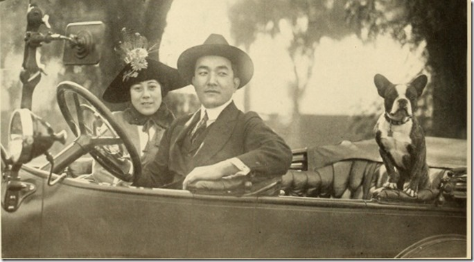 Sessue Hayakawa in Car Photoplay 1917