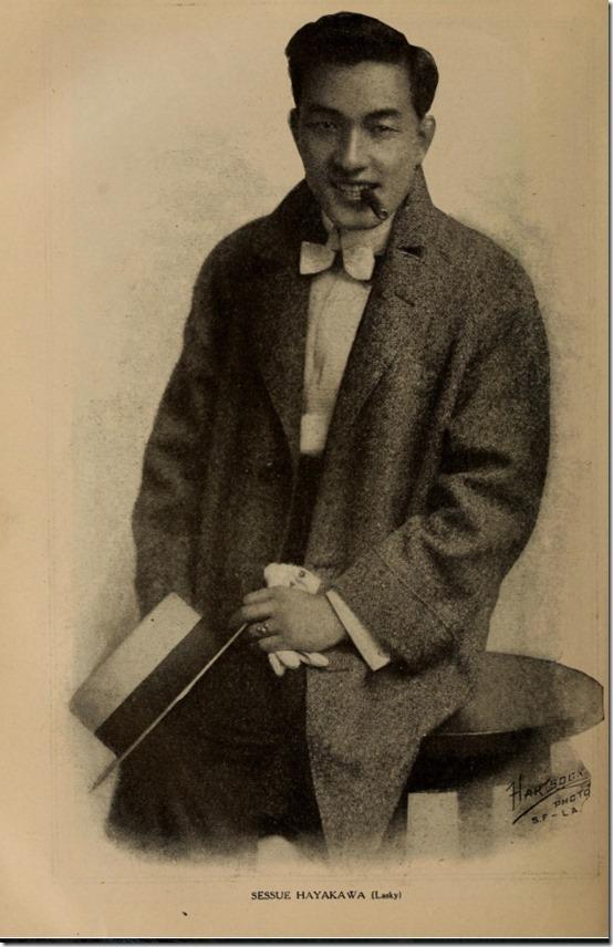 Sessue Hayakawa mid-1910s Hartsook