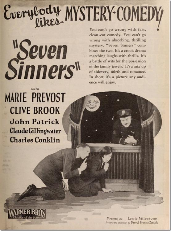 Seven Sinners Cute