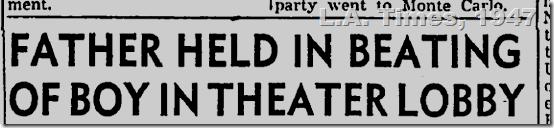 Oct. 13, 1947, L.A. Gimes