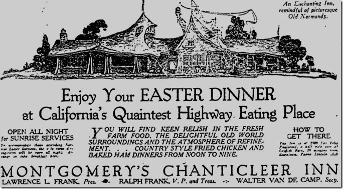 Tam O'Shanter ad
