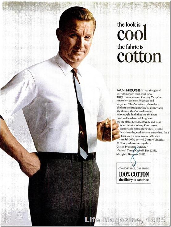 1965, Van Heusen Shirts