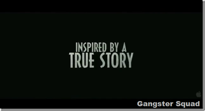 Gangster Squad Title