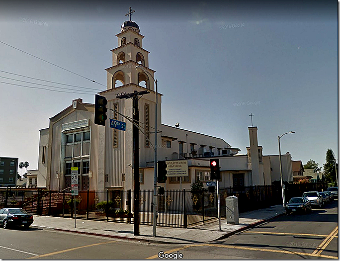 St. Paul Baptist Church Via Google Street View