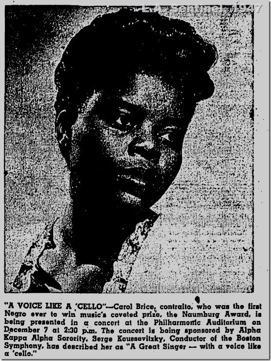 L.A. Sentinel, 1947