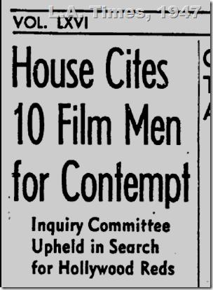 L.A. Times, Nov. 25, 1947