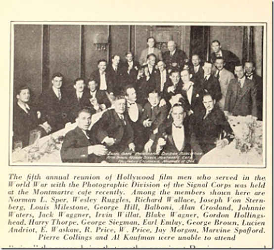 Montmartre Cafe Film Signal Corp Motion Picture News 12-18-26