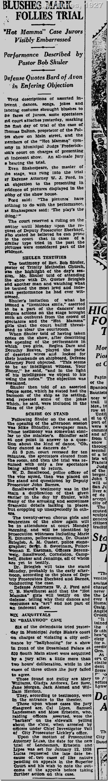 Dec. 3, 1927, L.A. Times