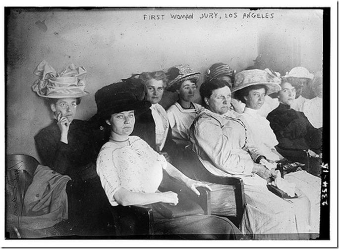 First woman jury