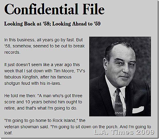 Paul Coates, Confidential File