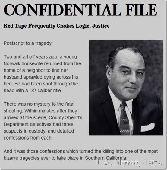 Paul Coates, Jan. 14, 1959, L.A. Mirror