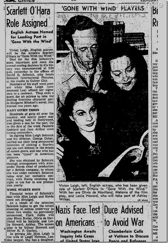 L.A. Times, 1939