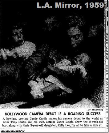Jamie Curtis, 1959, L.A. Mirror