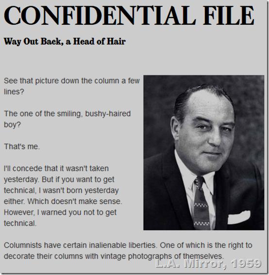 Jan. 19, 1959, Paul Coates