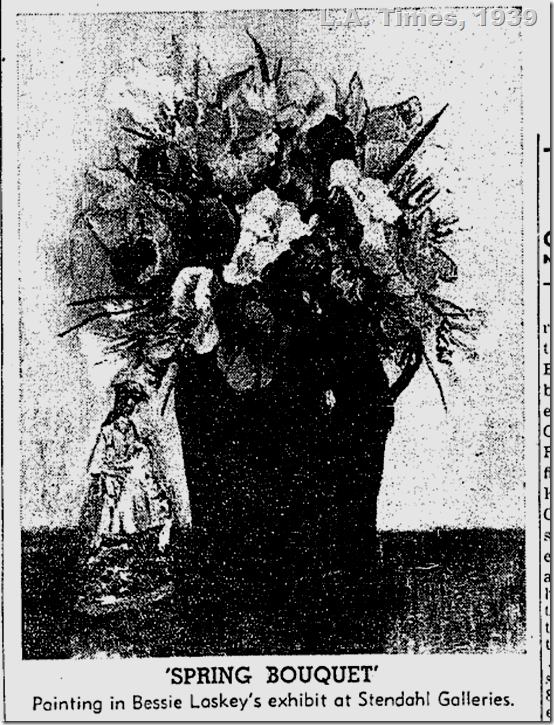 Bessie Lasky, L.A. Times, 1939
