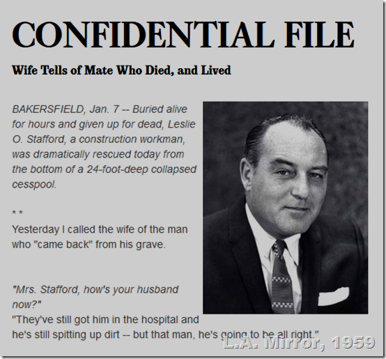 Paul Coates, Confidential File