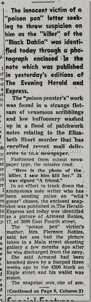 L.A. Herald, Jan. 31, 1947