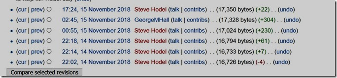 wikipedia_george_hodel_steve_hodel_edits