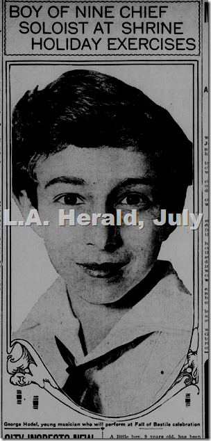 L.A. Herald, July 14, 1917, George Hodel