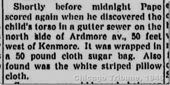 Chicago Tribune, Jan. 6, 1946.