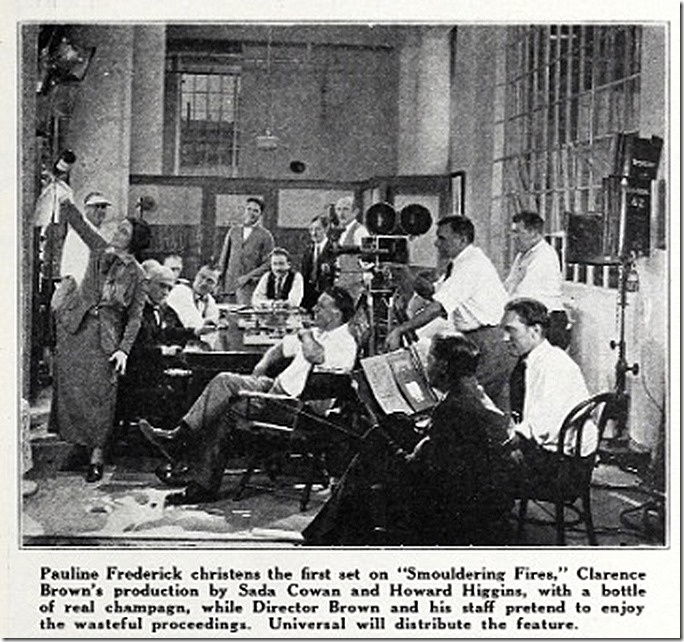 Smouldering Fires Exh. Herald 1924