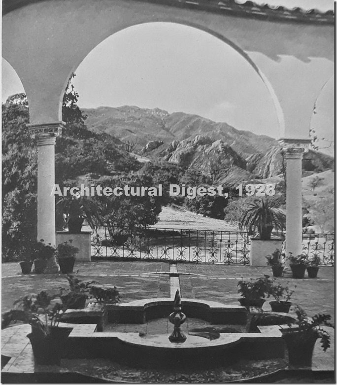 Gillette Ranch Patio Arch Digest 1928_edit