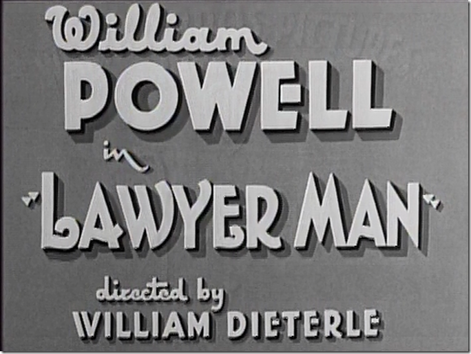 Lawyer Man title card