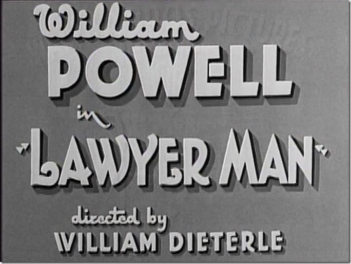 Lawyer Man title card
