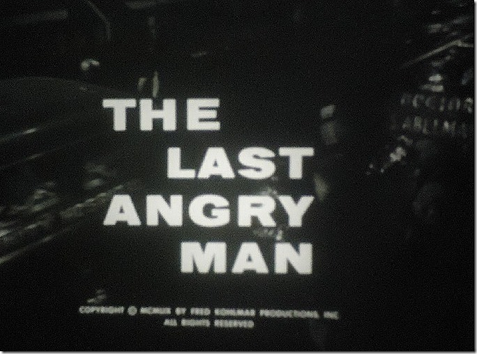 Last Angry Man