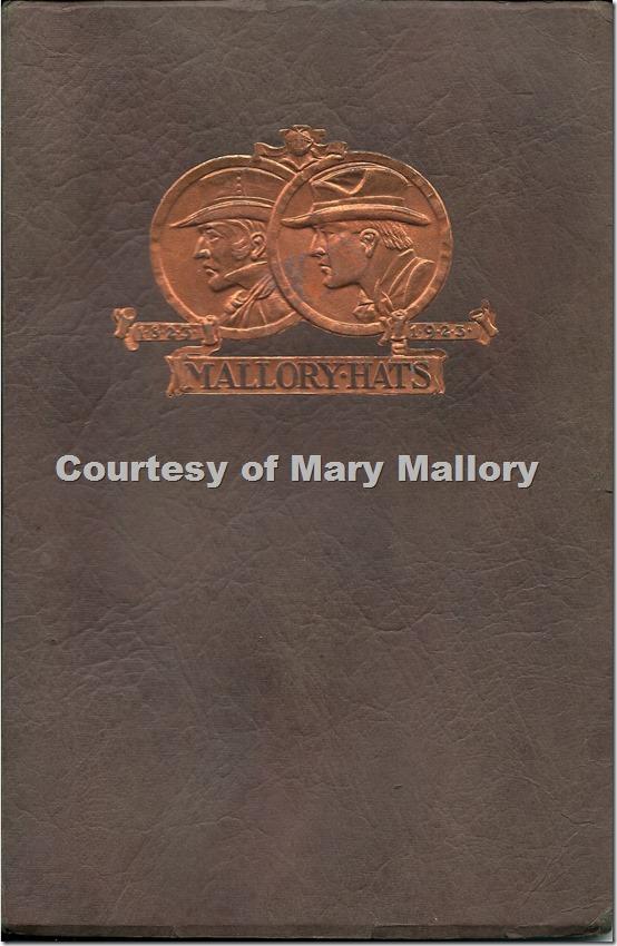 Mallory Hats brochure