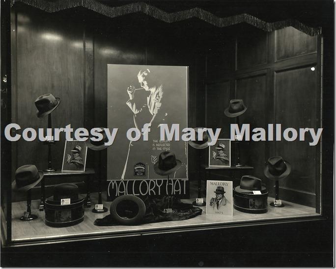 Mallory Hats Window