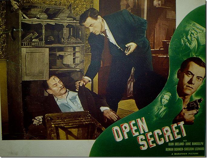 Open Secret Lobby Card