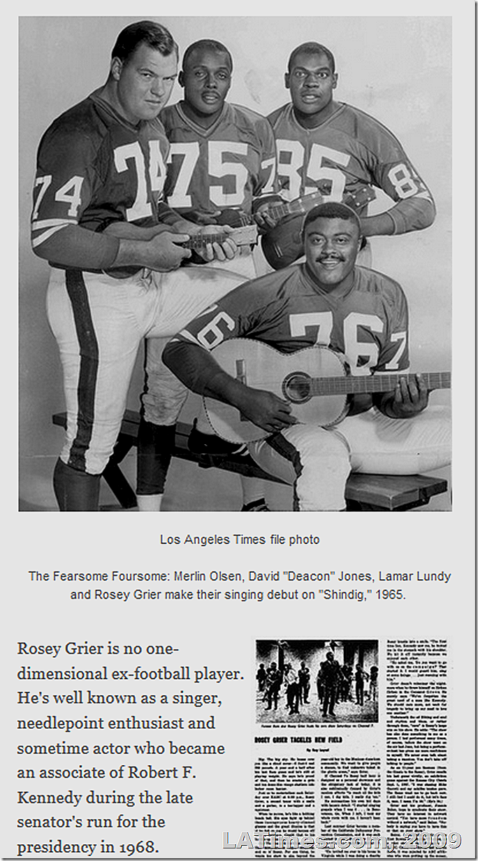 Rosey Grier Show