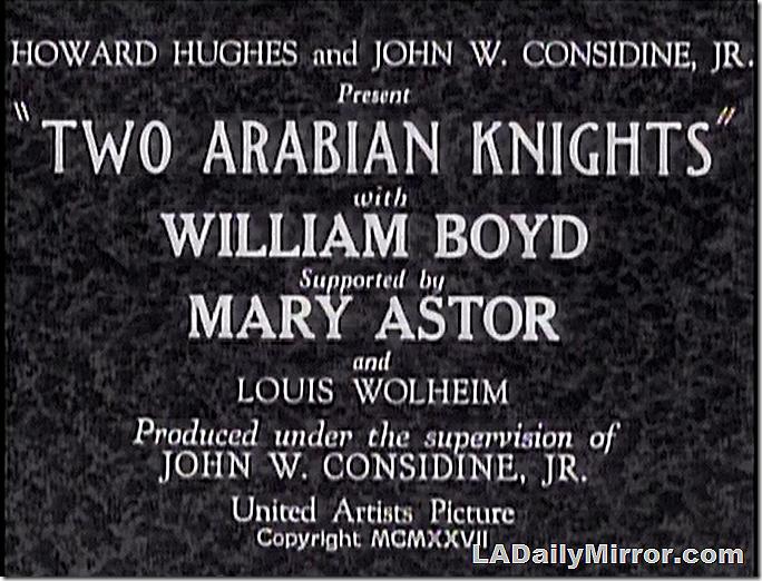April 27, 2019, Two Arabian Knights