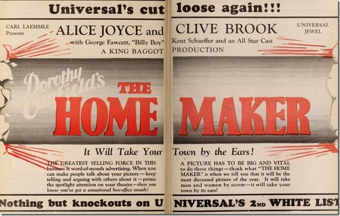 The Home Maker MPN Ad
