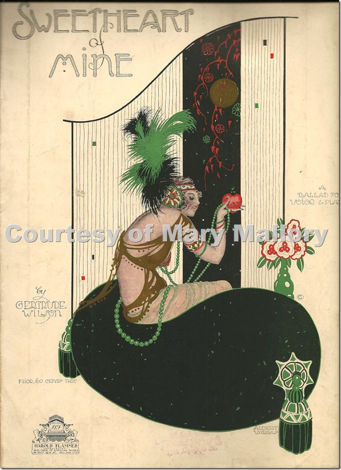 Vargas Sweetheart of Mine 1920