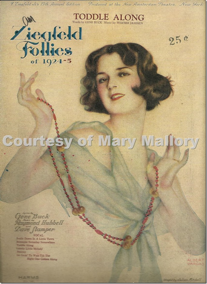 Vargas Ziegfeld F. of 1924