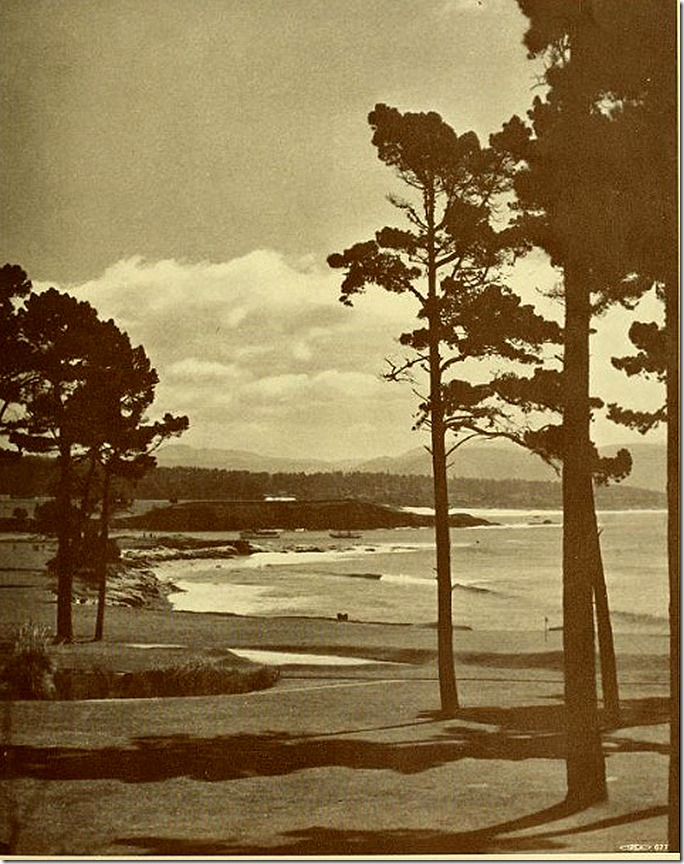 Van Rossem Pebble Beach Intl photo Jan 1932
