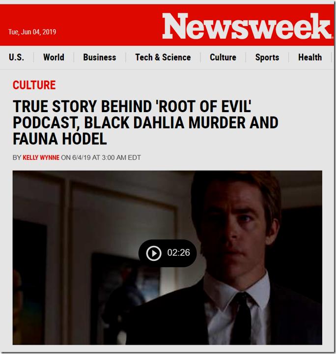 Newsweek Black Dahlia
