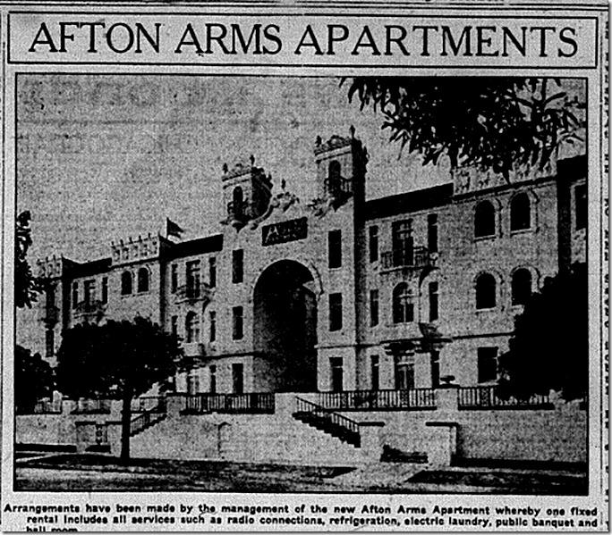 Afton Arms Exterior Hollywood Citizen 1-25-25